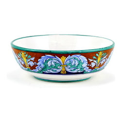 Artistica - Hand Made in Italy - Royale: Serving Pasta Bowl (915/30-2196) - Royale Deruta Dinnerware collection: