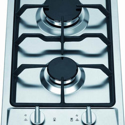 Ramblewood High-Efficiency 2-Burner Gas Cooktop - Rachel Khoo has two burners in her tiny Paris kitchen. I would so get these if I had a tiny space.