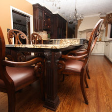 Traditional Kitchen Islands And Kitchen Carts by Architectural Justice