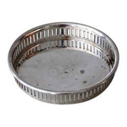 Small Silver Decorative Dish