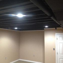 affordable ceiling basement design ideas pictures remodel decor