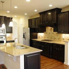 Traditional Kitchen Cabinetry dark cabinetry Kitchen Design