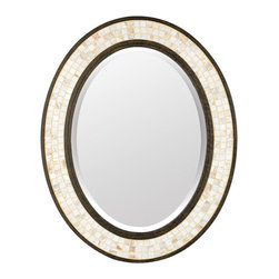 Quoizel - Quoizel Monterey Mosaic Mirror - 24W x 30H in. - Oval - MY430242ML - Shop for Mirrors from Hayneedle.com! About Quoizel LightingLocated in Charleston South Carolina Quoizel Lighting has been designing timeless lighting fixtures and home accessories since 1930. They offer a distinctive line of over 1 000 styles including chandeliers lamps and hanging pendants. Quoizel Lighting is the perfect way to add an inviting atmosphere to any area in your home both indoors and out.