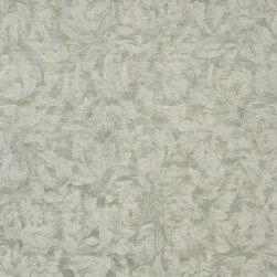 Sage Ivory, Pastel Floral Leaves Jacquard Woven Upholstery Fabric By The Yard - Botanical upholstery fabrics with the look of this one, add a unique appearance to any furniture. This material's colors look pastel, and blend perfectly together.