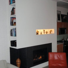 Contemporary Living Room by John Whipple - By Any Design ltd.