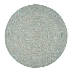 Safavieh - Braided Braided Round 6' Round Multi Color-Gray Area Rug - The Braided area rug Collection offers an affordable assortment of Braided stylings. Braided features a blend of natural Multi Color-Gray color. Handmade of Polypropylene the Braided Collection is an intriguing compliment to any decor.