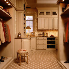 Traditional Closet by Samsel Architects