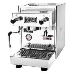 """Pasquini - Pasquini Livia G4 Automatic with PID - Pasquini. The name itself says espresso. They have been in the coffee business for over fifty years. Now, building on the success of the legendary Pasquini Livia 90, we offer the new """"Livia G4"""" lineup of three new machines. The """"Pasquini Livia G4"""" line are redesigned machines to supply the discerning home user with quality equipment, designed for many years of dependable service. All three """"Livia G4"""" machines are made in Italy - The original home of espresso! How do you improve on the Pasquini Livia G4 Semi-Automatic PID-Controlled espresso machine? Add programmable, push-button, fully-automatic operation! Commercial quality for your home! The Pasquini Livia G4 Fully Automatic PID-controlled espresso machine, the flagship of the new Livia G4 lineup, is one of the finest heat-exchanger machines available today for use in your home. Computer controlled water temperature AND automatic brew function. Step up to Pasquini!"""