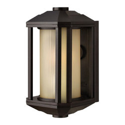 Hinkley Lighting - Hinkley Lighting 1396BZ Castelle Mini Outdoor Wall Sconce in Bronze - Hinkley Lighting 1396BZ Castelle Mini Outdoor Wall Sconce in Bronze