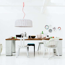 Eclectic Dining Room by usona
