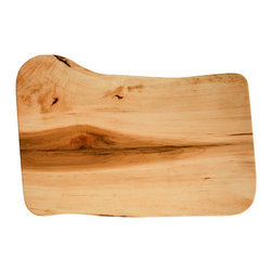 Live-Edge Board, Maple, Large - These special cutting boards, which are designed and made in Maine, feature the live-edge design that is so popular now. I love their shape and character — each one is truly one-of-a-kind.