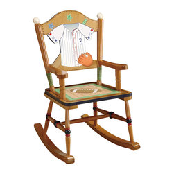 Teamson Design - Teamson Kids Little Sports Fan Rocking Chair - Teamson Design - Kids Rocking Chairs - TD0021A. Every child needs a rest! Why not get them our New lil' sport rocking chair. It's a great choice to add to any child's room.
