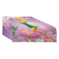 Franco Manufacturing - Tinkerbell Twin-Full Bed Comforter Be Yourself Blanket - FEATURES: