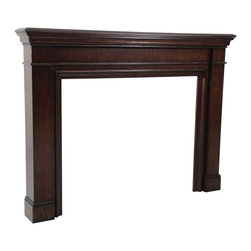 Ambella Home - Ambella Home Fireplace Rich Mahogany - Product Details
