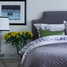 Transitional Headboards by Rebecca Mitchell Interiors & Boutique