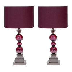 Aspire Bennie Table Lamp Set