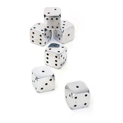 Go Home - Set of Six Sin City Dice - Six Sin City Dice made from aluminium and perfect for playing.Sold as a Set of Six.Sure it will entertain you in your free time.