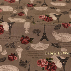 Modern Upholstery Fabric by Fabric In Wonderland
