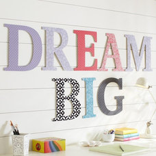 Contemporary Wall Letters by PBteen