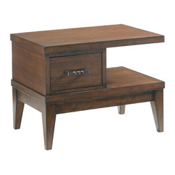 Lexington - Lexington 11 South Encore Nightstand 456-622 - With sleek stylig to compliment the Urbana Sleigh Bed, this design works as a left or right facing unit by rotating the drawer from front to back, left to right.