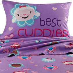 Disney - Disney Doc McStuffins Sheet Set - This Doc McStuffins sheet set is a great way to update your little one's bedroom. These sheets are super soft and coordinate perfectly with the Doc McStuffins comforter.