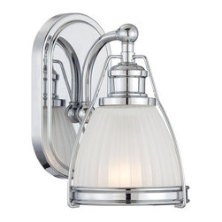 "Minka Lavery - Minka Lavery 5791 1 Light 9"" Height Bathroom Sconce - Single Light 9"" Height Bathroom SconceFeatures:"