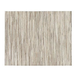 Faust 8'x10' Rug - Selected for their color and textural quality, strips of cowhide remnants are assembled in an array of pleasing neutral color for a soft, organic foundation to the room. Two skilled artisans take over a week to create this exceptional rug, cutting the leather into strips and gluing and stitching them onto a sturdy backing.