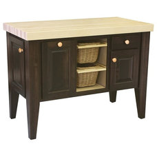 Contemporary Kitchen Islands And Kitchen Carts by DutchCrafters Amish Furniture