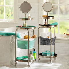 contemporary bathroom storage by PBteen