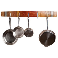 Contemporary Pot Racks And Accessories by Alpine Wine Design
