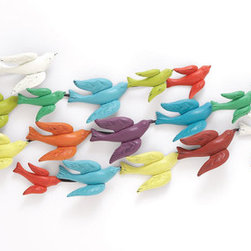 "Benzara - The Colorful Metal Bird Wall Decor - Are you looking to make your living a whole lot more colorful than what it is currently? Looking to add a touch of sheer brilliance to it? Well, not you can do just that by attaching this metal bird wall decor. In what are birds flying together, this flock will add sheer beauty to your home. Perfect for any room in your home; this wall decor will make people stand and take notice of it. Indeed, it will be in a pleasant and jolly way that they will notice it; and the heart will dance and smile like never before.Add to that the fact that this wall decor has been made using quality materials, and what you get is a perfect product. Perfect as a gifting item too, you may also attach it in your children's bedroom. Certainly this is one of the lovelier wall decors you will see. Metal bird wall decor dimensions: 68 inches (W) x 3 inches (D) x 17 inches (H); Metal bird wall decor color: Assorted; Made from: Metal; Dimensions: 49""L x 29""W x 17""H"