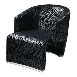 Uttermost - Uttermost Yareli Zebra Accent Chair - 23139 - Uttermost's accent chairs combine premium quality materials with unique high-style design.