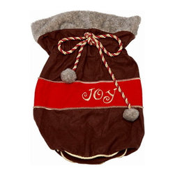 Winward Designs - Santa's Joy Pouch - Ho! Ho! Ho! Christmas bells are ringing and we hope you haven't forgotten your Christmas pouches! Great as a Christmas gift and can be used as a multi-purpose pouch for decorating.