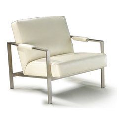 10-250 DESIGN CLASSIC CHAIR by Milo Baughman - Original mid-century design by Milo Baughman, this Design Classic chair is available in many fabrics and leathers, COM, COL and different metal finishes.