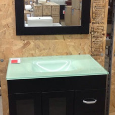 Contemporary Bathroom Vanities And Sink Consoles by KBL Discount Center