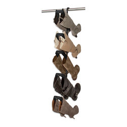 Boot Butler 5-Pair Boot Rack - Boot Organizer and Boot Shaper - US & FOREIGN PATENTS PENDING