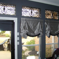 Traditional Roman Shades by Avenue Window Fashions