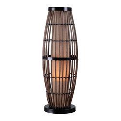 Kenroy - Kenroy 32247RAT Biscayne Outdoor Table Lamp - Kenroy 32247RAT Biscayne Outdoor Table Lamp
