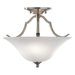 Murray Feiss - Murray Feiss Beckett Transitional Semi Flush Mount Ceiling Light X-SB492FS - Murray Feiss Beckett Transitional Semi Flush Mount Ceiling Light X-SB492FS