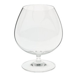 Riedel - Riedel Vinum Brandy 2 pack - Cap off a perfect evening with brandy, beautifully served. This set of two lead-crystal snifters will make your every sip a mellow celebration.