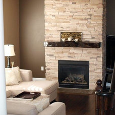 Modern Indoor Fireplaces by The Art Of Stone - Matthew Clarke