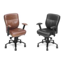 Hooker Furniture - Hooker Furniture Executive Swivel Tilt Chair EC204 - Includes Hooker Furniture Executive Swivel Tilt Chair EC204 only