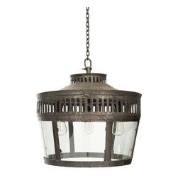 #N/A - Lafyette Lantern - Lafyette Lantern. Style: Modern, Width: 22.5, Depth: 22.5, Height: 19