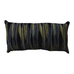 Pillow Perfect - Kasuri Blue, Green Throw Pillow - - Pillow Perfect Kasuri Navy Bolster Throw Pillow  - Sewn Seam Closure  - Spot Clean Only  - Finish/Color: Blue/Green  - Product Width: 23  - Product Depth: 11.5  - Product Height: 5  - Product Weight: 1.5  - Material Textile: Polyester  - Material Fill: 100% Recycled Virgin Polyester Fill  Pillow Perfect - 514833