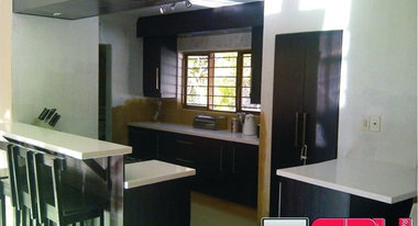 Pretoria za kitchen bath designers for Kitchen designs randburg