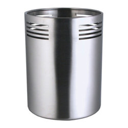 Cuisinox - Cuisinox Utensil holder - This utensil holder will keep all your tools in one place. Place it on your countertop or on your island workspace for quick access to all your utensils from ladles to spatulas and wooden spoons.