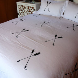 Arrow Duvet Set by Branch Handmade