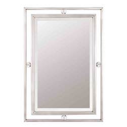 Quoizel Lighting - Quoizel DW43222BN Downtown Brushed Nickel Mirror -