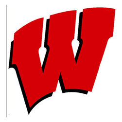 Trademarx Wall Decor - NCAA Wisconsin Badgers College Logo Wallmarx Accent Decal - Features: