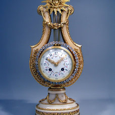 Traditional Desk And Mantel Clocks by The Swelle Life